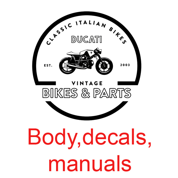 Body,decals,manuals